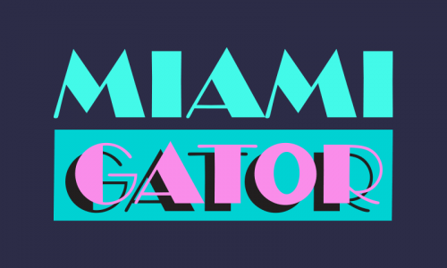 Miamigator - Security brand name for sale
