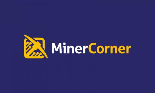 Minercorner - Analytics startup name for sale