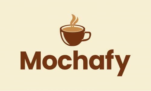 Mochafy - Food and drink startup name for sale