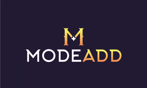 Modeadd - E-commerce business name for sale