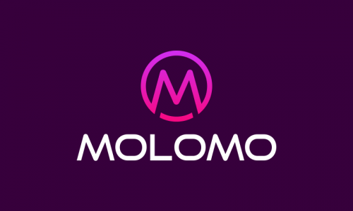 Molomo - Marketing startup name for sale