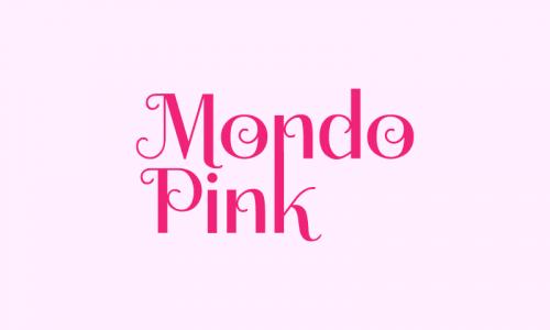 Mondopink - Fashion business name for sale