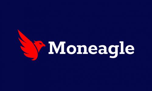 Moneagle - Finance domain name for sale