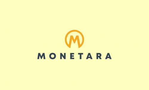 Monetara - Finance company name for sale