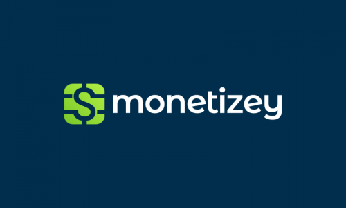 Monetizey - Finance business name for sale