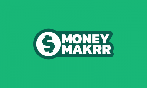 Moneymakrr - Finance startup name for sale