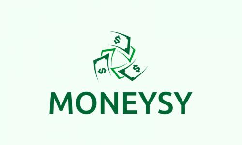 Moneysy - Finance company name for sale