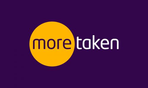 Moretaken - Writing brand name for sale