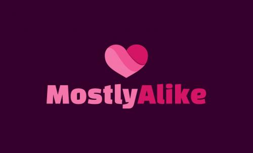 Mostlyalike - Social networks domain name for sale