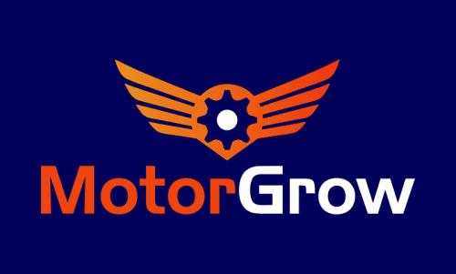 Motorgrow - Marketing domain name for sale
