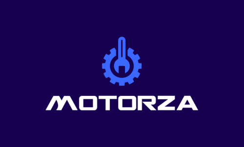 Motorza - Brandable startup name for sale