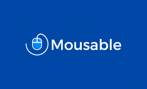 Mousable - Technology business name for sale