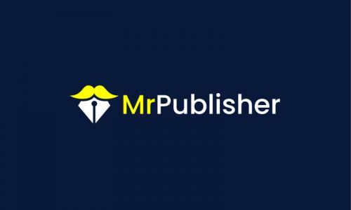 Mrpublisher - Media brand name for sale