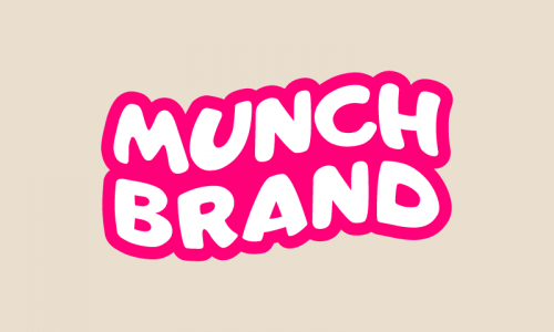 Munchbrand - Food and drink company name for sale