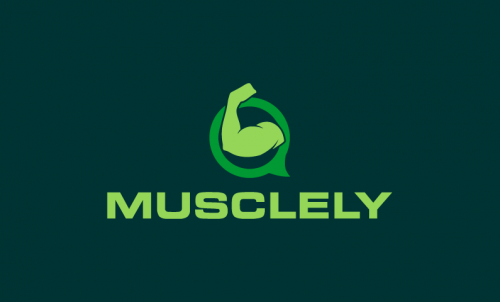 Musclely - E-commerce startup name for sale
