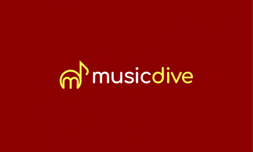 Musicdive - Music domain name for sale