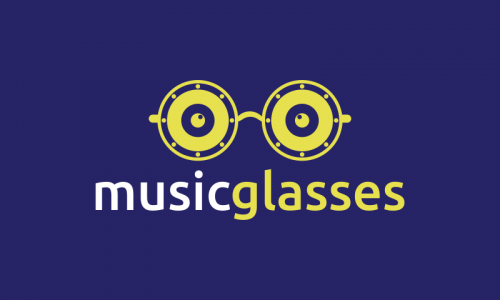 Musicglasses - Electronics domain name for sale
