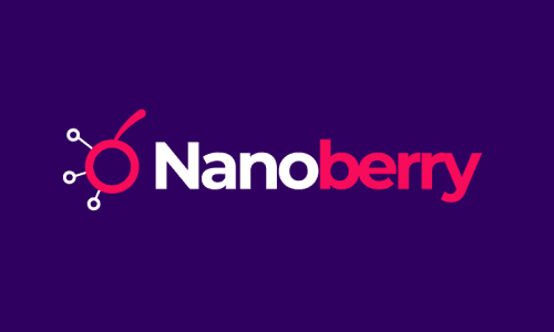 Nanoberry - Cryptocurrency domain name for sale