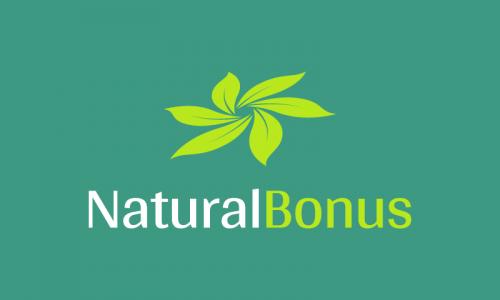 Naturalbonus - Potential startup name for sale