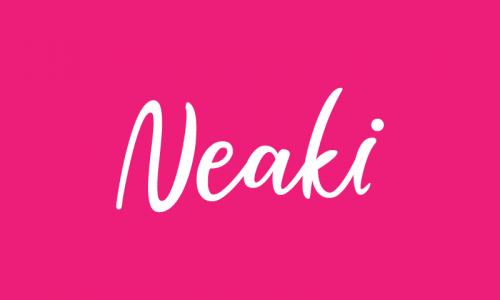 Neaki - E-commerce brand name for sale