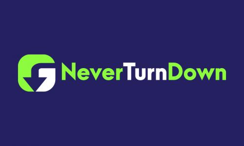 Neverturndown - Business startup name for sale