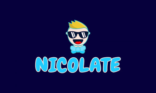 Nicolate - Social business name for sale