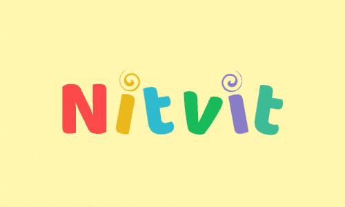 Nitvit - E-commerce brand name for sale