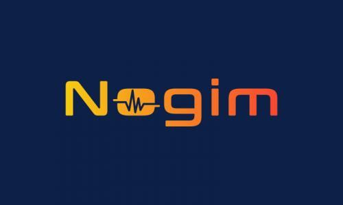Nogim - Audio startup name for sale