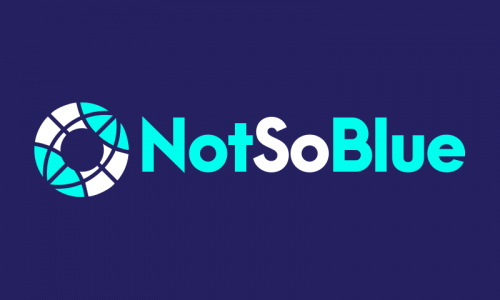 Notsoblue - E-commerce domain name for sale