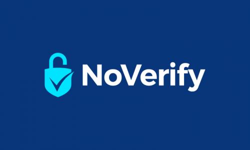 Noverify - Business brand name for sale