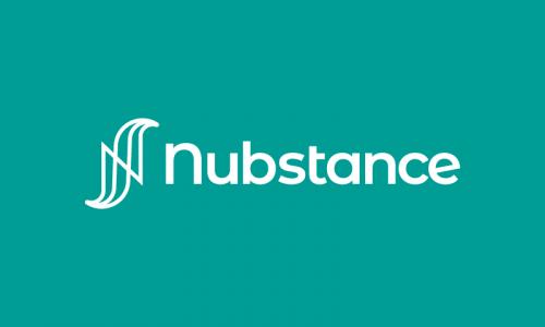 Nubstance - Technology startup name for sale
