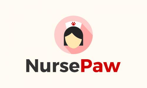 Nursepaw - Veterinary company name for sale