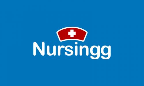 Nursingg - Retail startup name for sale