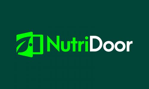 Nutridoor - Diet startup name for sale