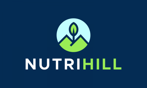 Nutrihill - Nutrition startup name for sale