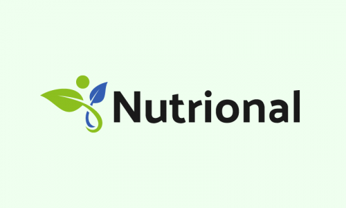 Nutrional - Nutrition startup name for sale