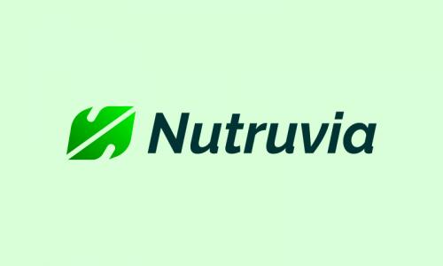 Nutruvia - Nutrition brand name for sale