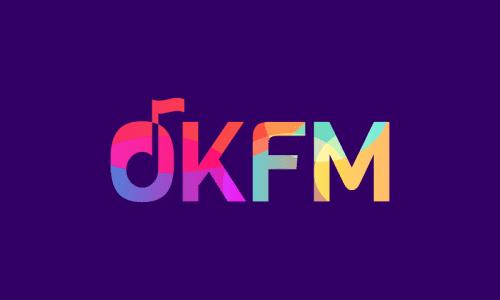 Okfm - Technology startup name for sale