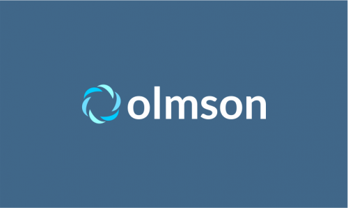 Olmson - Marketing brand name for sale