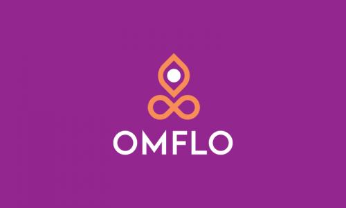Omflo - Peaceful company name for sale