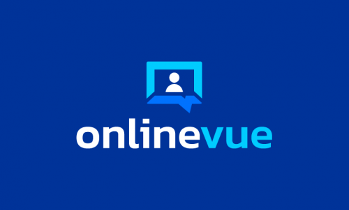 Onlinevue - Remote working brand name for sale