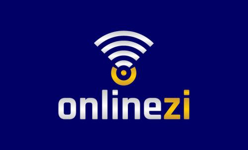 Onlinezi - E-commerce business name for sale