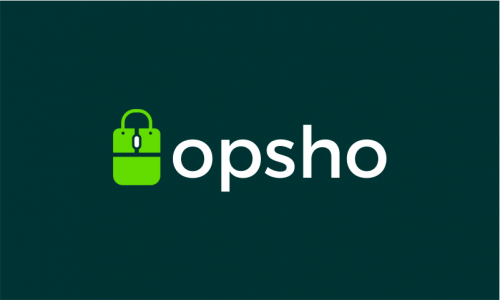 Opsho - Retail product name for sale