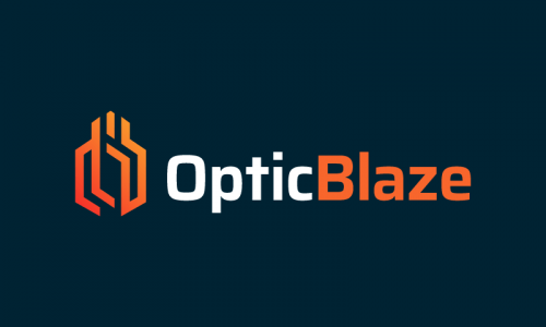 Opticblaze - Opticians company name for sale