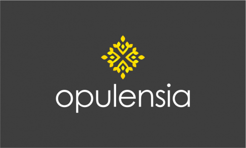 Opulensia - Retail company name for sale