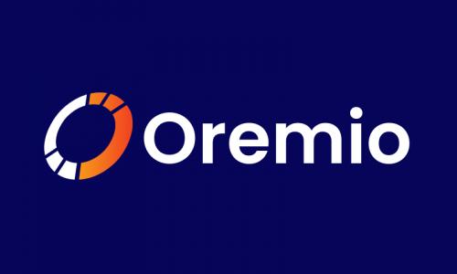 Oremio - E-commerce domain name for sale