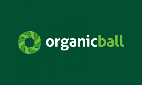 Organicball - E-commerce company name for sale