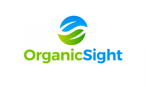 Organicsight - Modern business name for sale