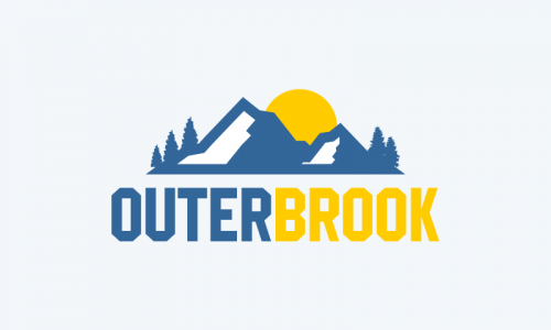 Outerbrook - Writing business name for sale
