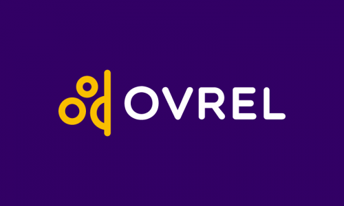 Ovrel - Peaceful startup name for sale